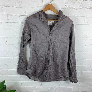 American Colors Long Sleeve Button-Up Blouse SZ M